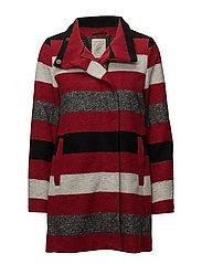 Coats woven - DARK RED