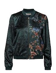 Jackets indoor woven - DARK TEAL GREEN