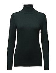 Sweaters - DARK TEAL GREEN