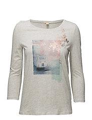 T-Shirts - PASTEL GREY 5