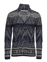 Sweaters - DARK BLUE
