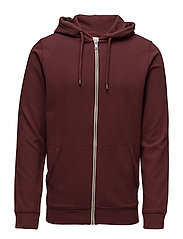 Sweatshirts - BORDEAUX RED 3