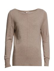 Sweaters - SILVER TAUPE MELANGE