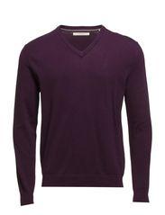 Sweaters - AUBERGINE PURPLE