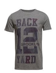 T-Shirts - MEDIUM GREY MELANGE