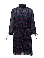 Dresses light woven - DARK BLUE