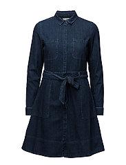 Dresses denim - BLUE DARK WASH