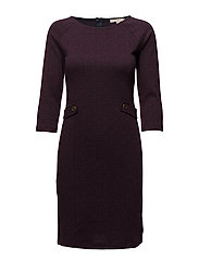 Dresses knitted - CHERRY RED