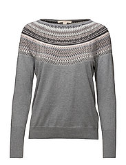 Sweaters - GREY 5