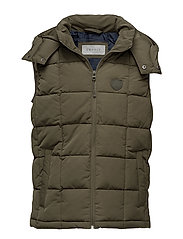 Vests outdoor woven - KHAKI GREEN