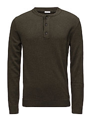 Sweaters - DARK GREEN 2
