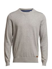 Sweaters - LIGHT GREY MELANGE