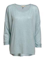 Sweaters - STERLING BLUE MELANGE
