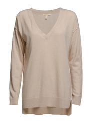 Sweaters - NATURAL BEIGE MELANGE
