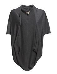 Sweaters cardigan - ASPHALT GREY MELANGE