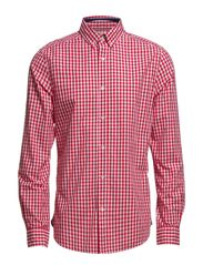 Shirts woven - CRIMSON RED