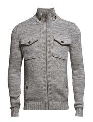Sweaters cardigan - MEDIUM GREY MELANGE