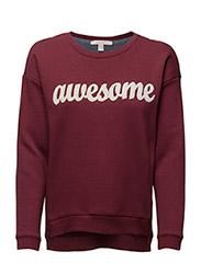 Sweatshirts - BORDEAUX RED