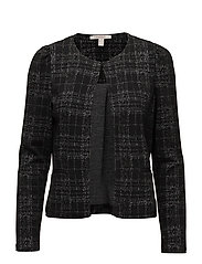 Jackets indoor knitted - BLACK