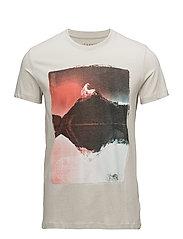 T-Shirts - PASTEL GREY