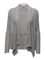 Sweaters cardigan - LIGHT GRANIT MELANGE