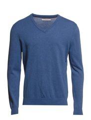 Sweaters - MARATHON BLUE MELANGE