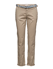 Pants woven - KHAKI BEIGE