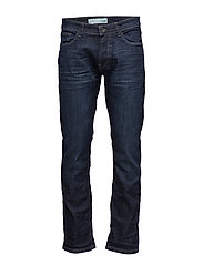 Pants denim - BLUE DARK WASH