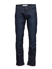Pants denim - BLUE DARK WASH