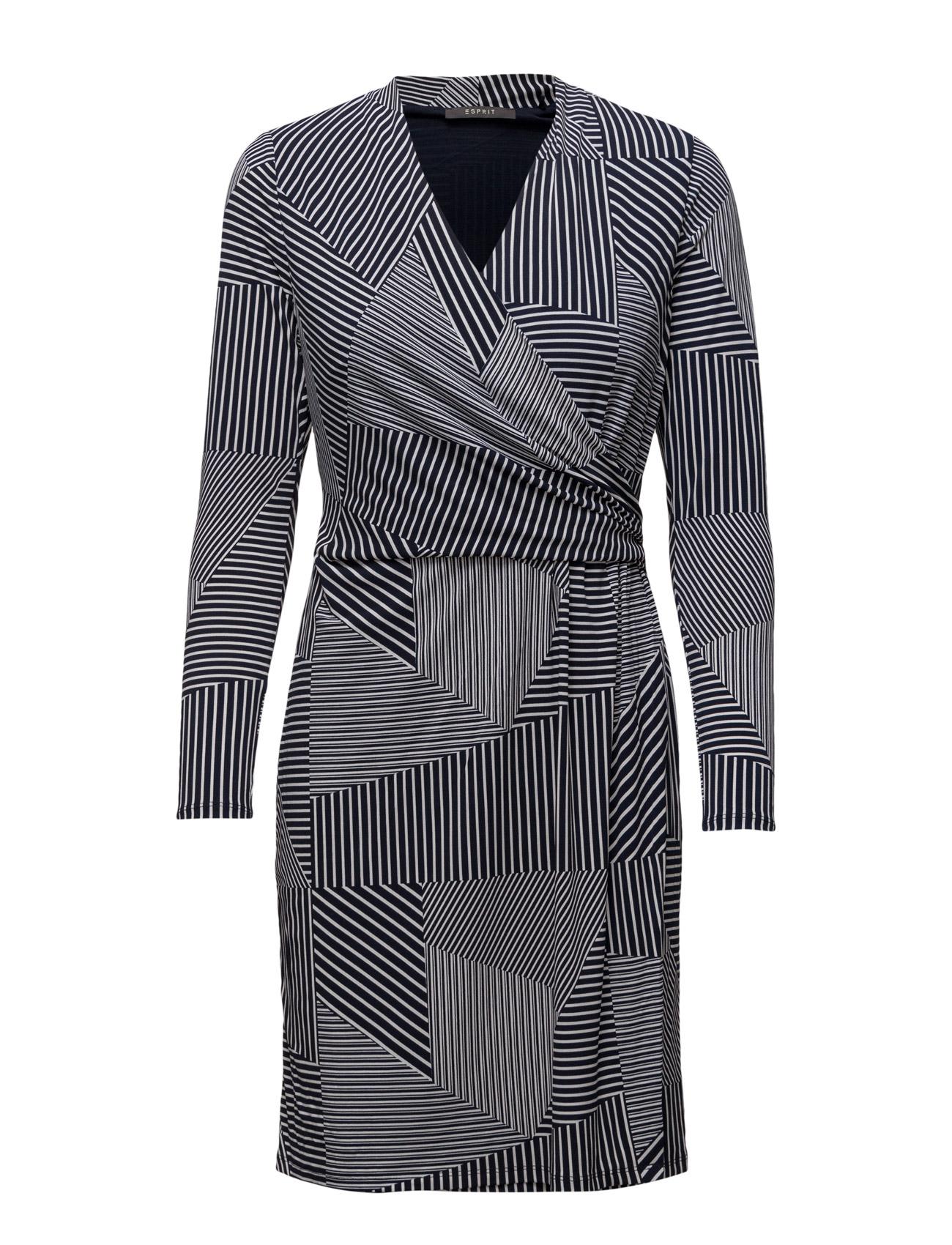 Dresses Knitted Esprit Collection Kjoler til Kvinder i Navy 2