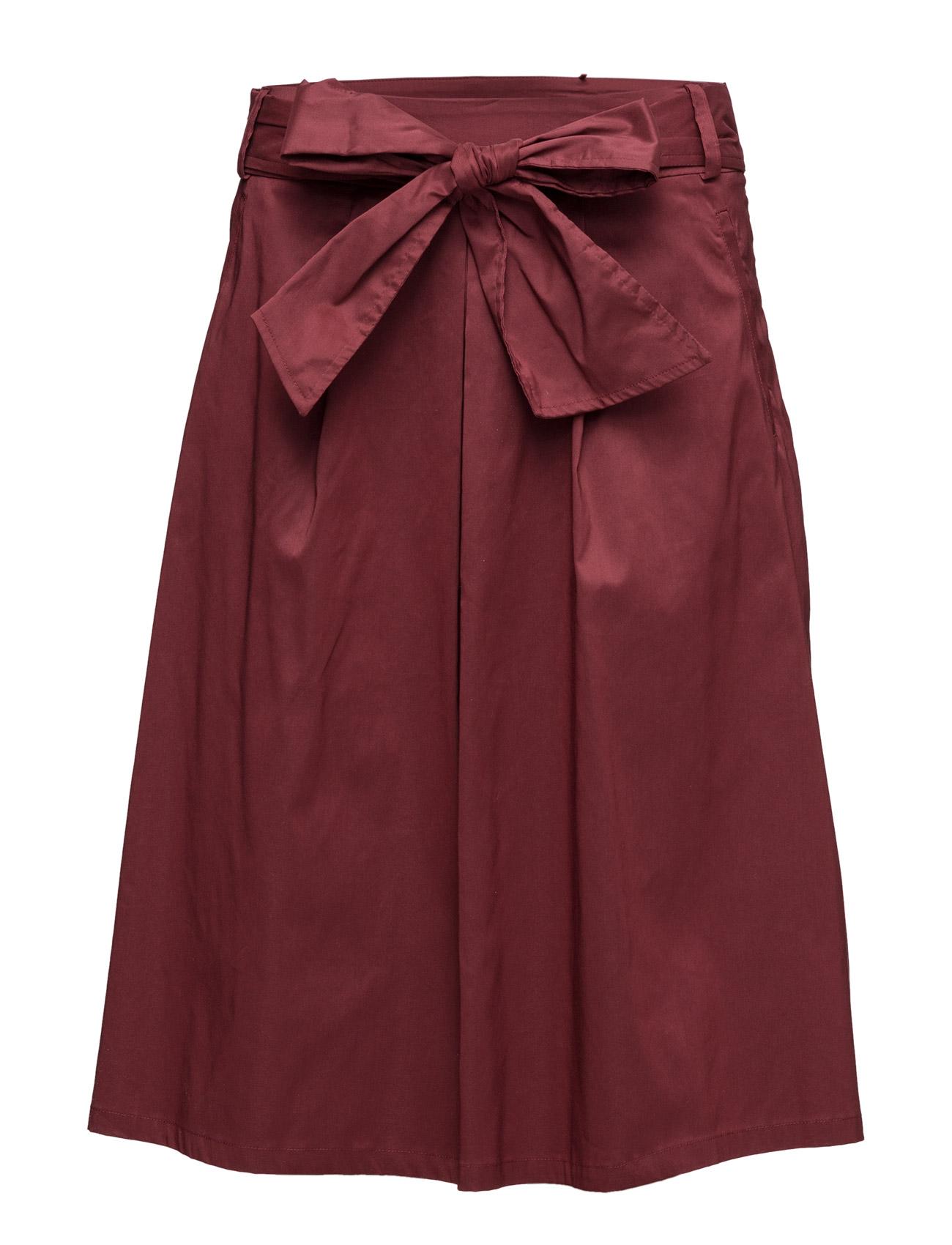 Skirts Light Woven Esprit Collection Nederdele til Kvinder i Mørkerød
