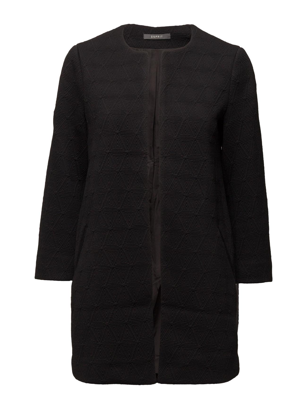 Jackets Indoor Woven Esprit Collection Frakker til Damer i Sort