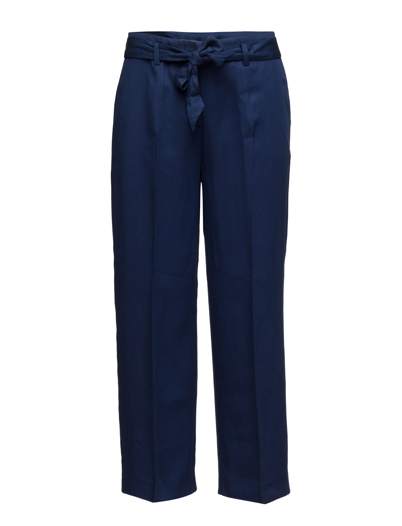 Pants Woven Esprit Collection Trompetbukser til Damer i Navy blå