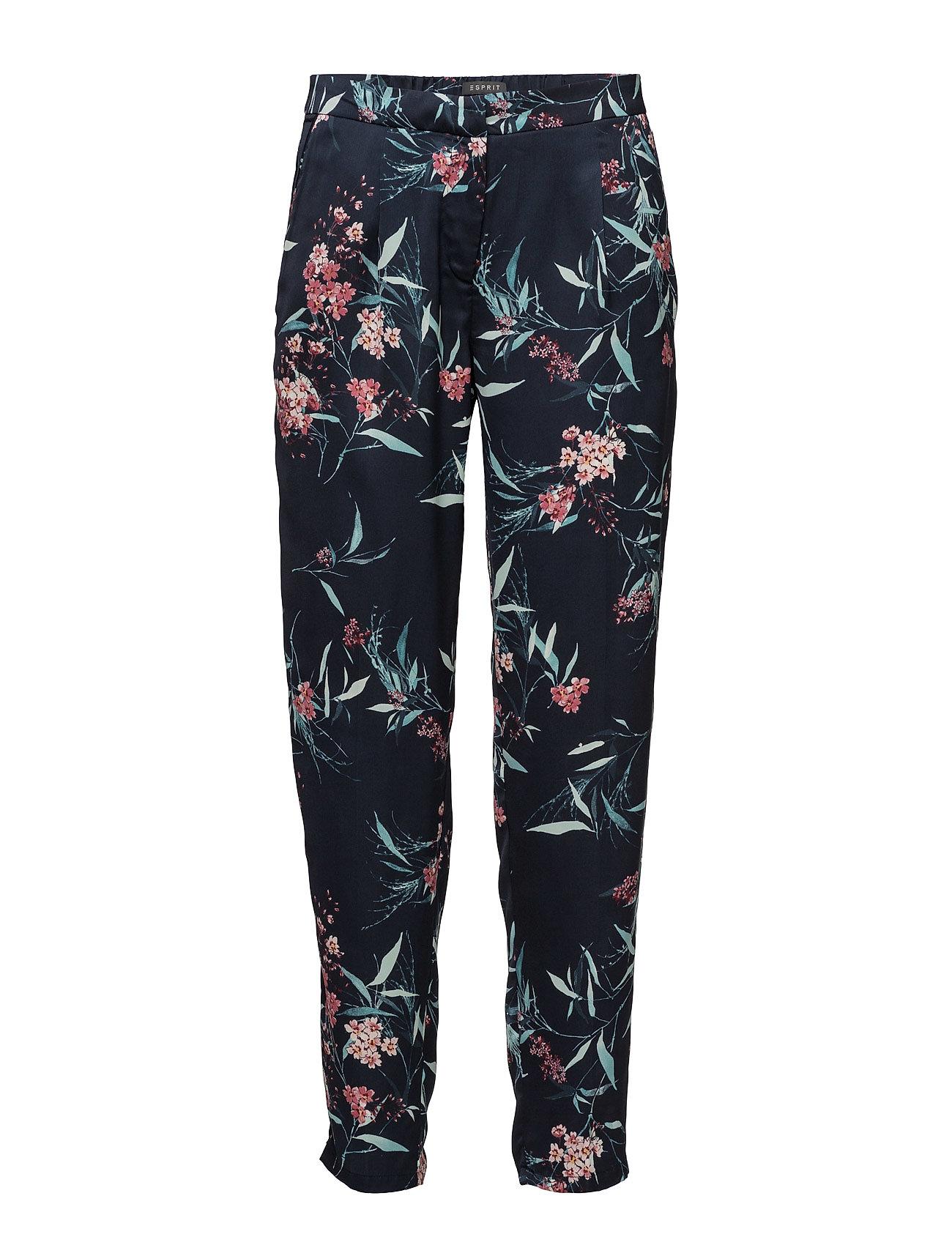 Pants Woven Esprit Collection Casual bukser til Damer i Navy blå