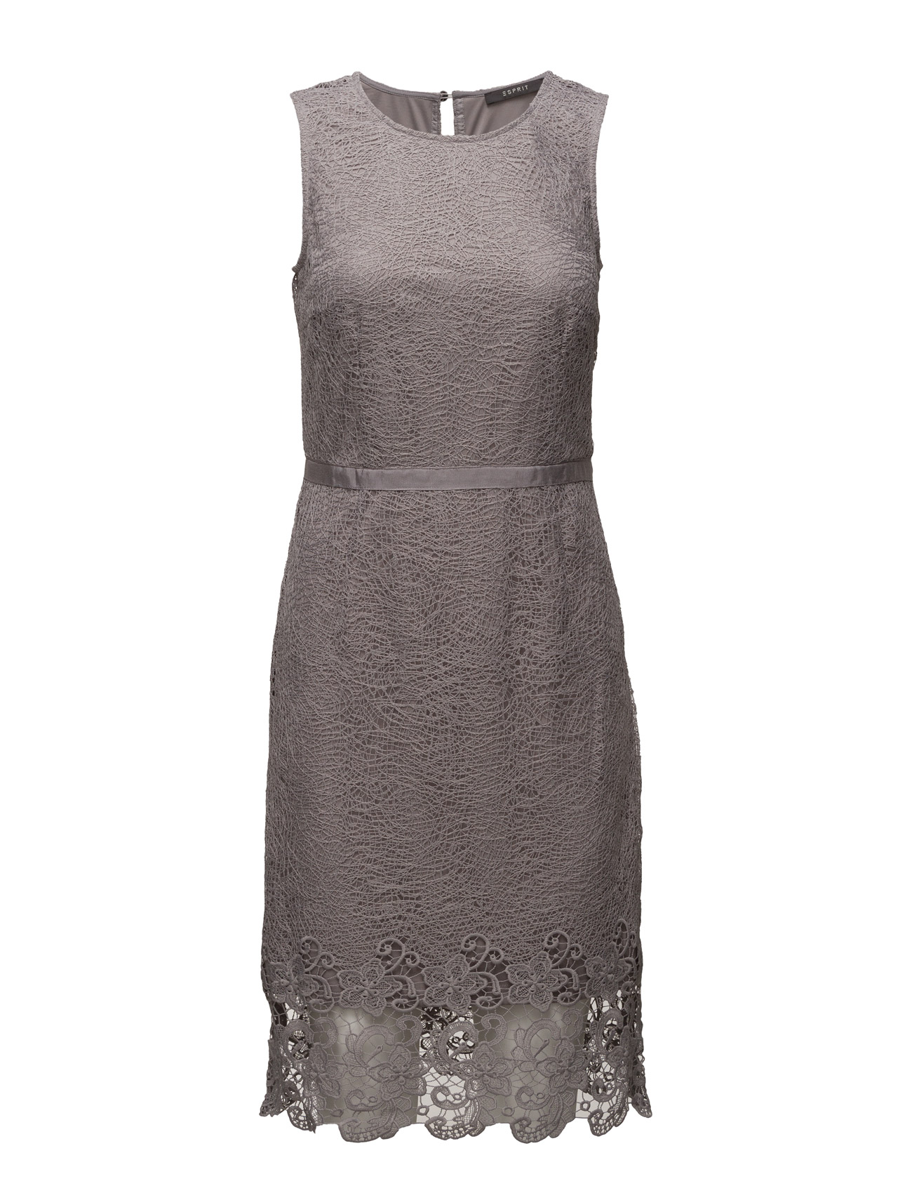 Dresses Light Woven Esprit Collection Knælange & mellemlange til Kvinder i Grå