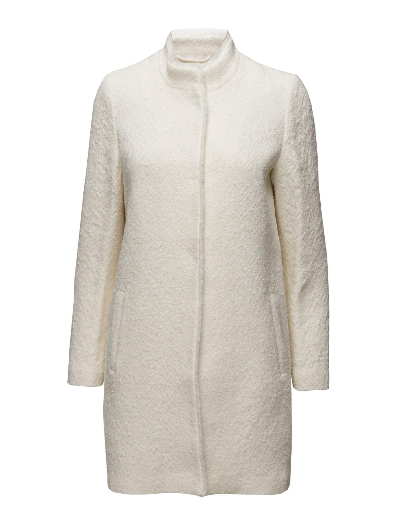 Coats Woven Esprit Collection Frakker til Kvinder i Off White