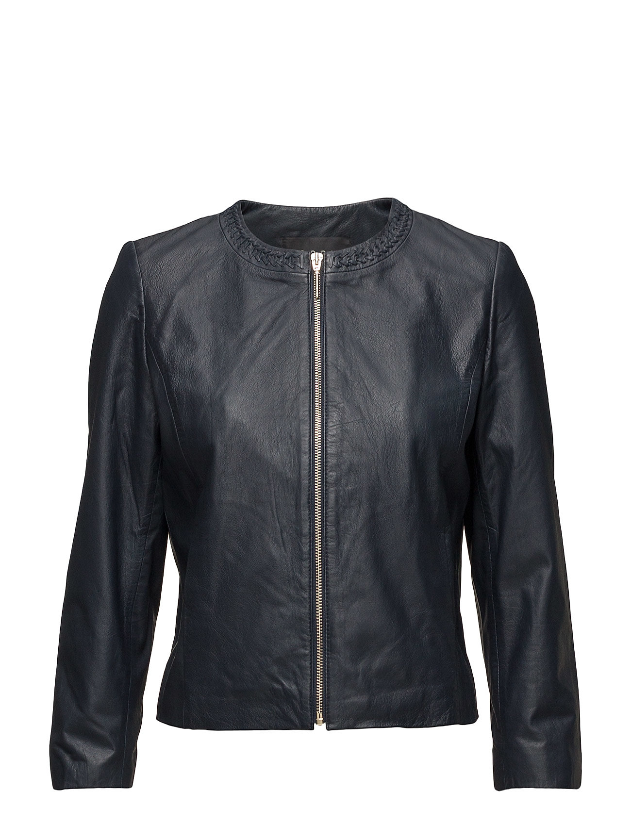 Jackets Outdoor Leather Esprit Collection Jakker til Damer i Navy blå