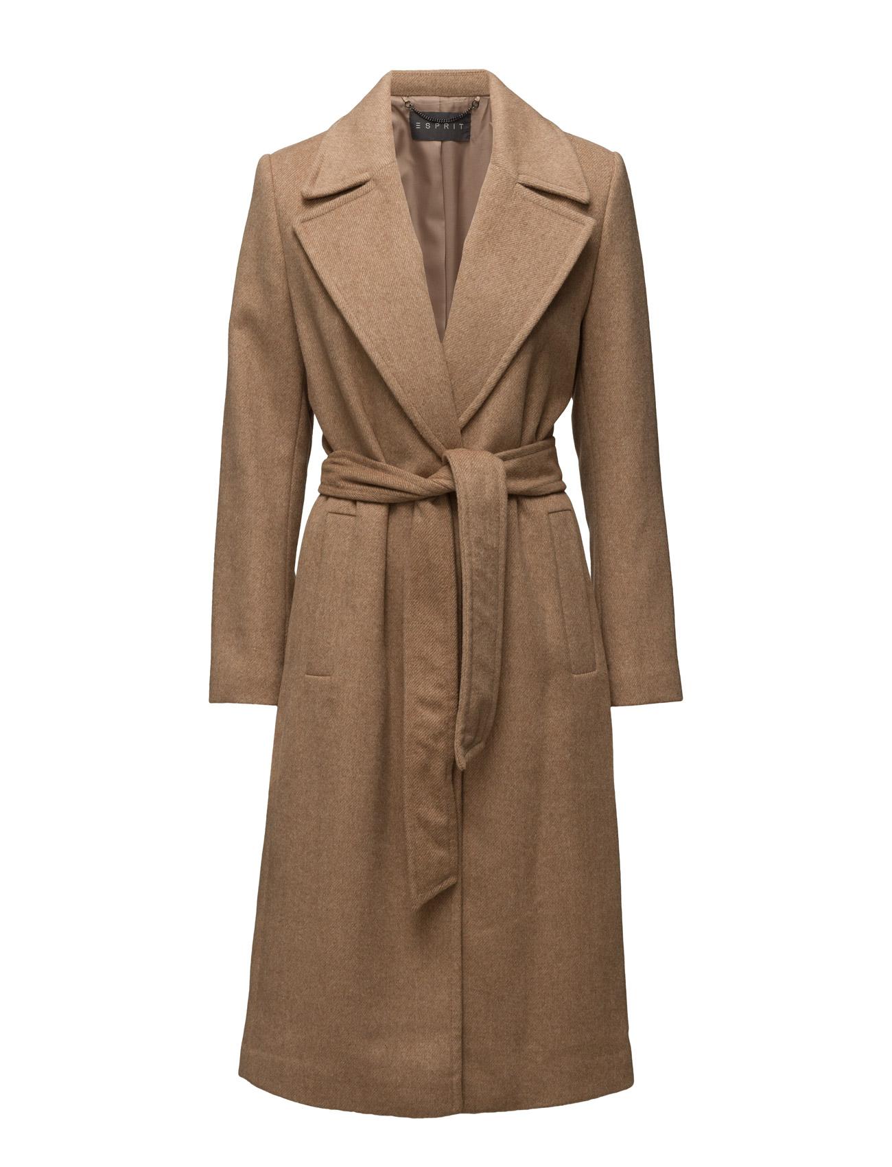 Coats Woven Esprit Collection Frakker til Damer i Kamel