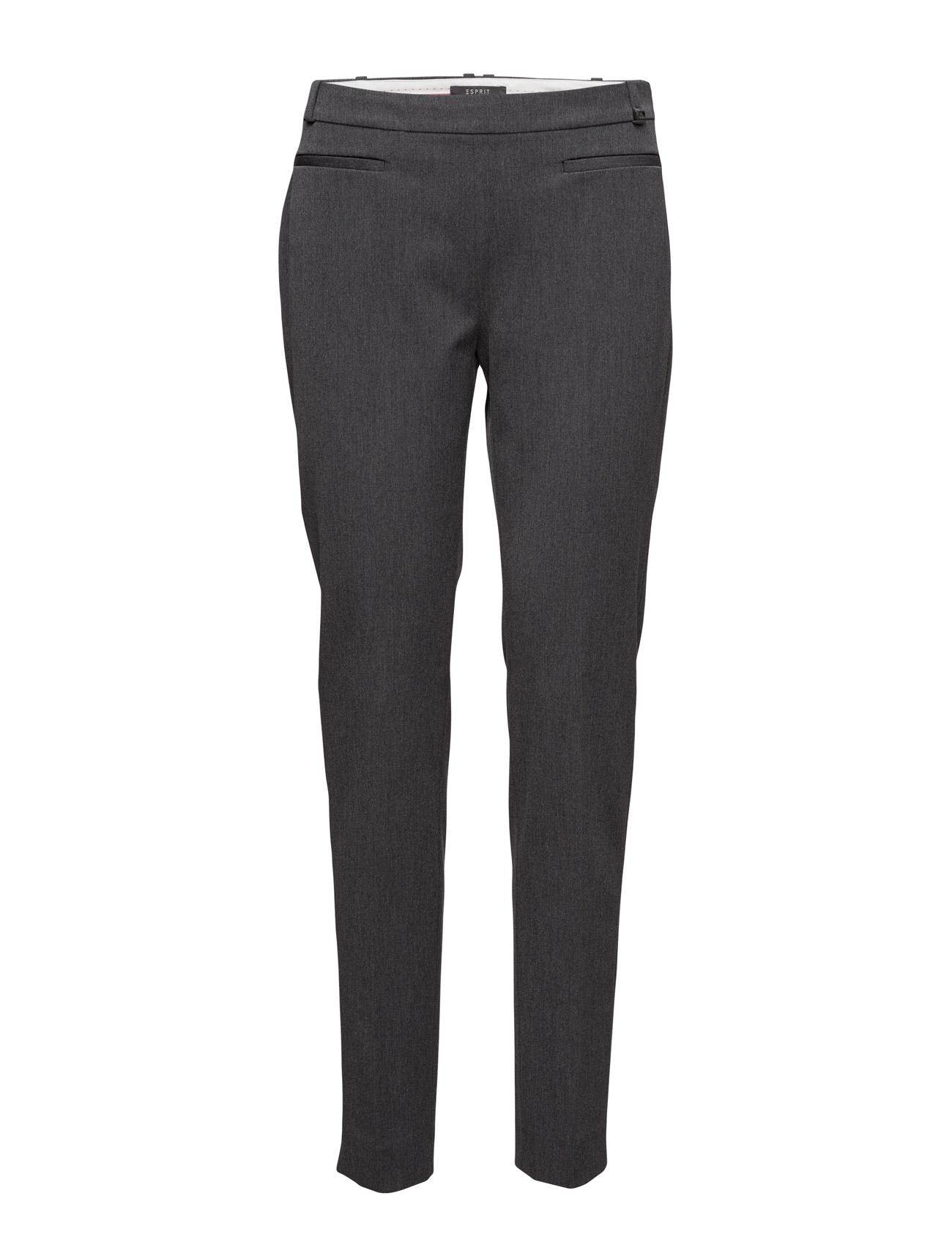 Pants Woven Esprit Collection Bukser til Damer i Mørkegrå