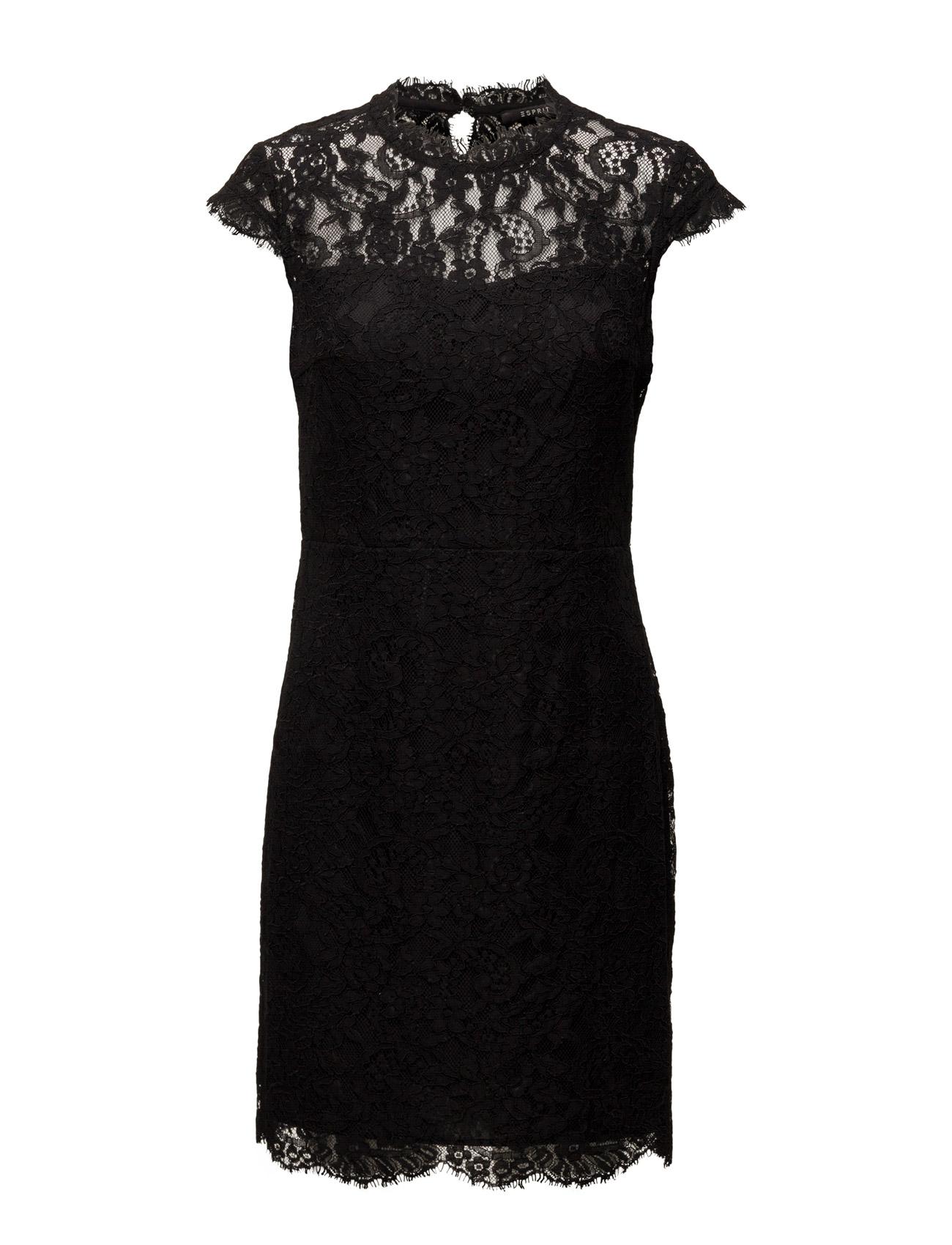 Dresses Light Woven Esprit Collection Korte kjoler til Damer i Sort
