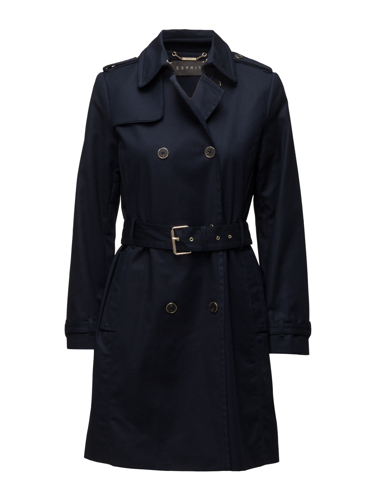 Coats Woven Esprit Collection Frakker til Kvinder i Sort