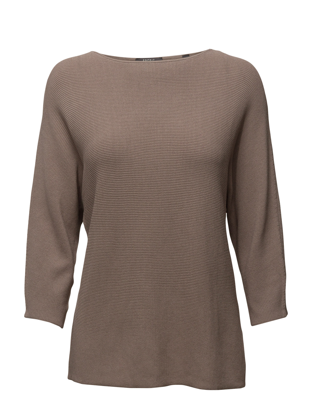 Sweaters Esprit Collection Striktøj til Kvinder i Taupe