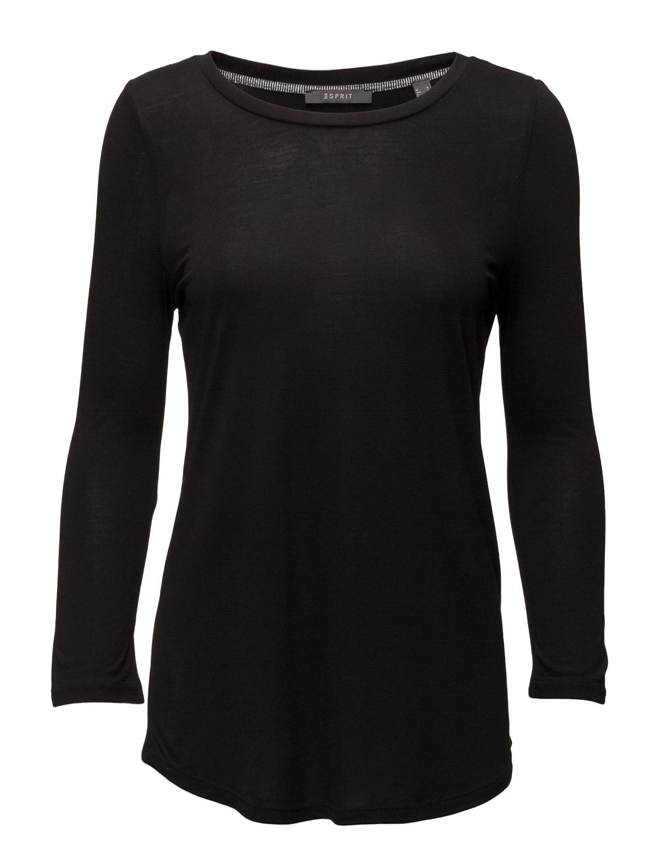 T-Shirts Esprit Collection Langærmede til Kvinder i Off White