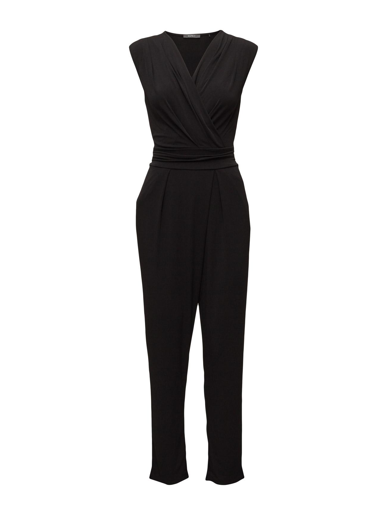 Overalls Knitted Esprit Collection  til Kvinder i Sort