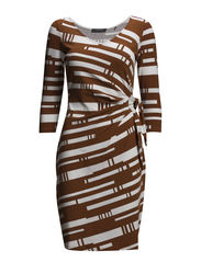 Dresses knitted - COGNAC