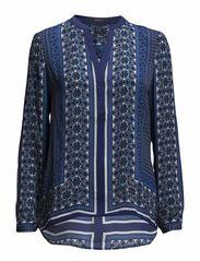 Blouses woven - COSMIC BLUE