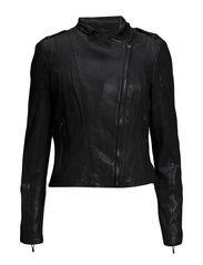 Jackets indoor leather - BLACK