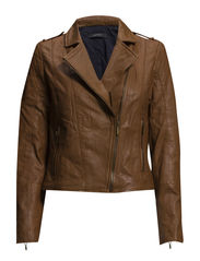 Jackets indoor leather - COGNAC
