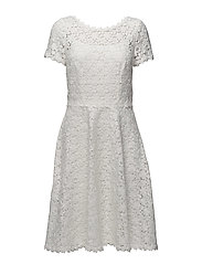 Dresses light woven - OFF WHITE