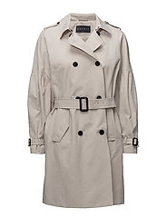 Coats woven - LIGHT BEIGE